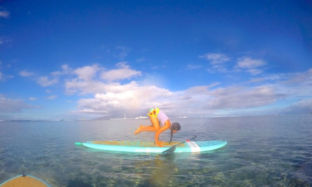 MAUI SUP YOGA CLASSES